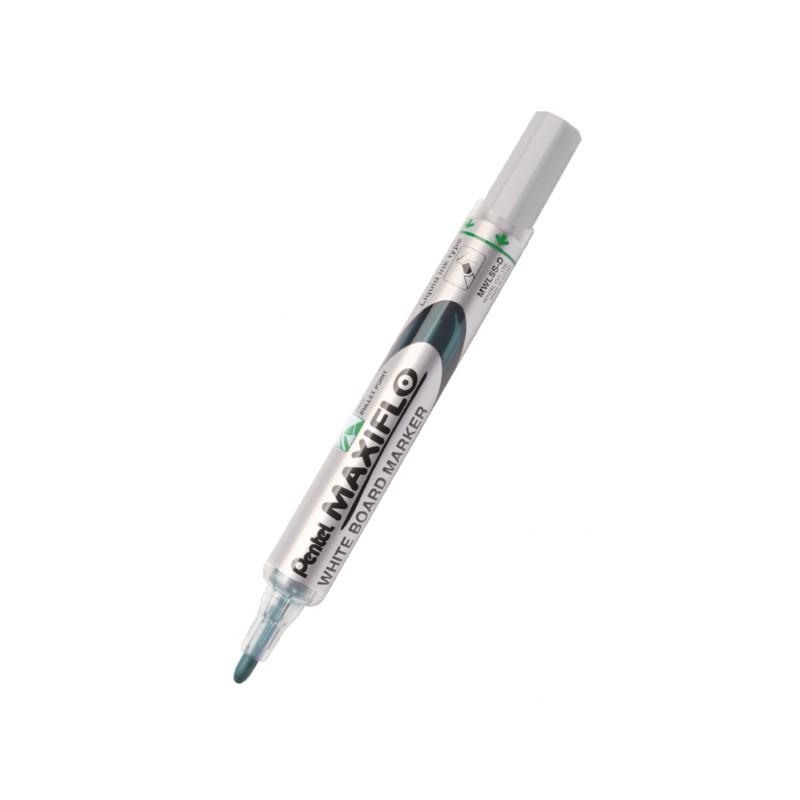 Marker do tablic suchoナ嫩ieralnych Pentel MWL5S Maxiflo zielony