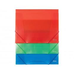 Teczka z gumką Centrum A4 pp 0,45mm mix kolorów