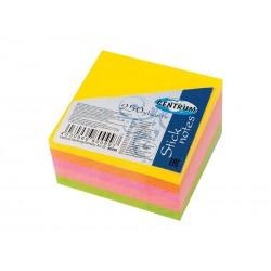 Notes samoprzylepny Centrum 51x51mm 5x50 karteczek neonowych