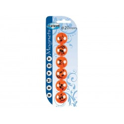 Magnes Centrum smile 20mm 6 szt.