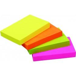 Notes samoprzylepny Centrum 51x76mm 80 kartek neonowych 82211