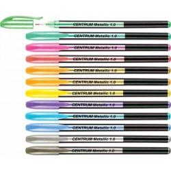 Długopis żelowy Centrum metallic 12 szt.