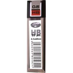 Wkład do ołówka Centrum 0,5 HB grafity do ołówka