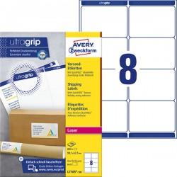 Białe etykiety wysyłkowe Avery Zweckform A4, 100 ark./op., 99,1 x 67,7 mm